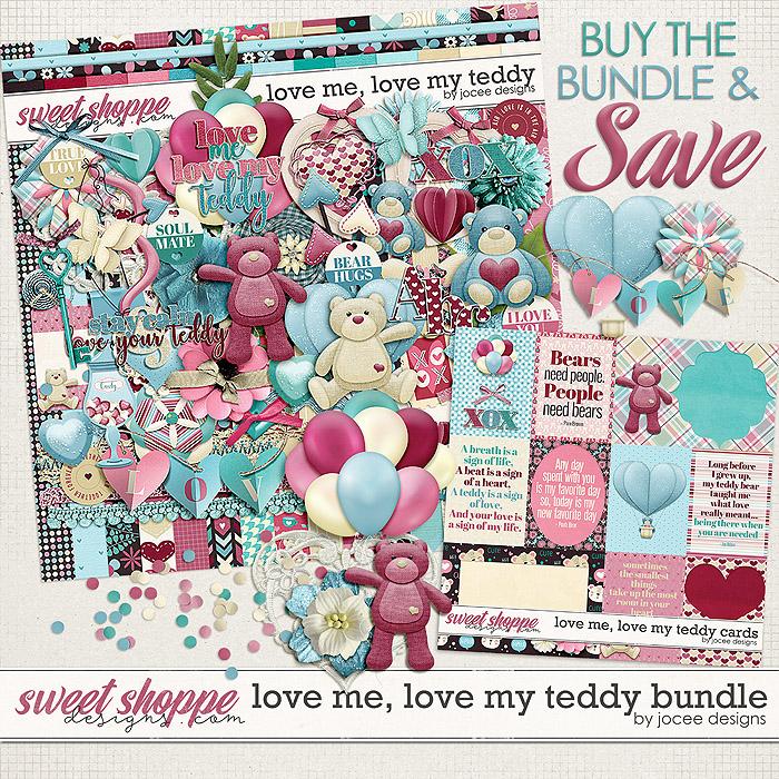 Love Me Love My Teddy Bundle by JoCee Designs