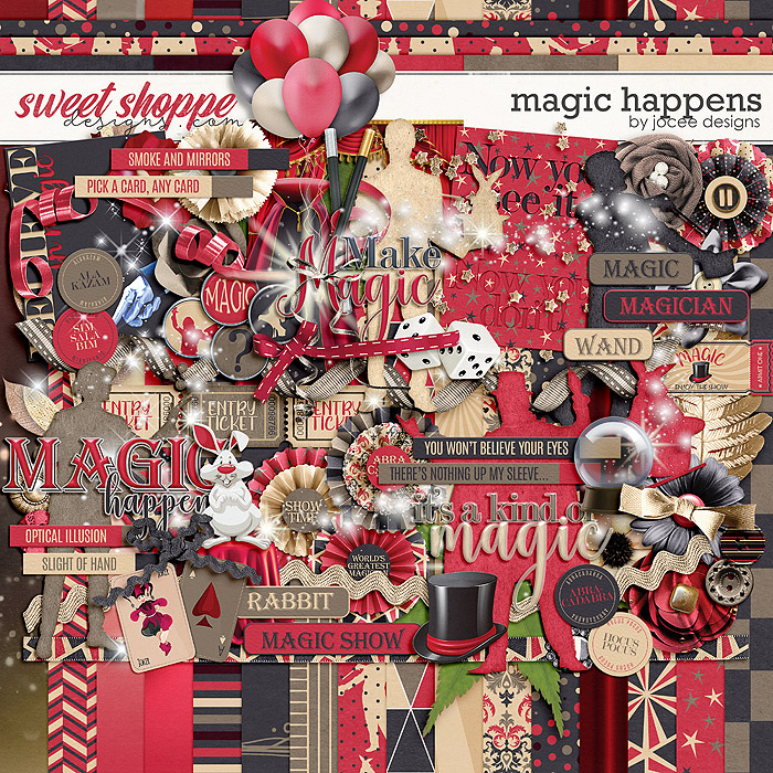 Magic Happens by JoCee Designs