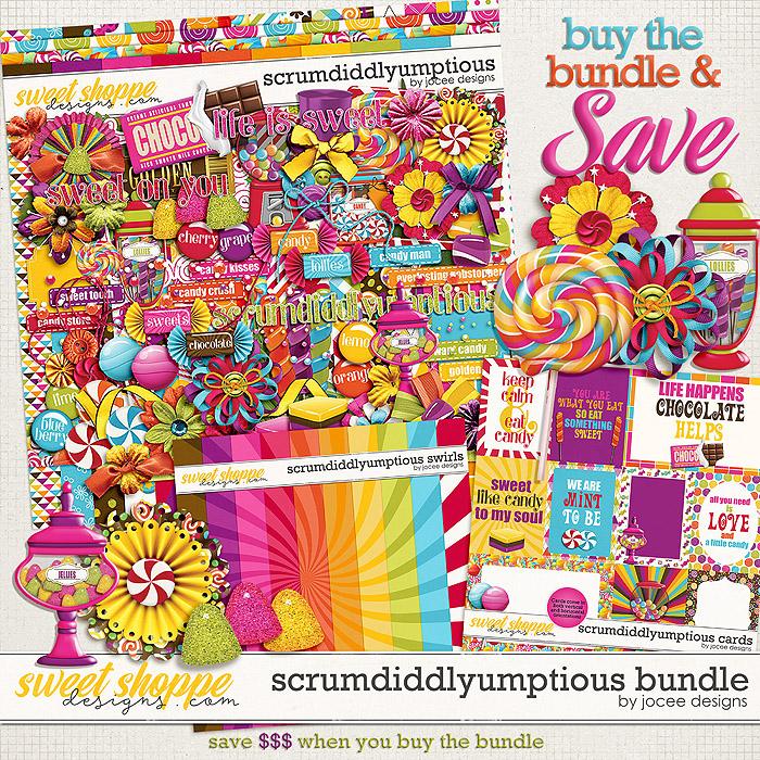 Scrumdiddlyumptious Bundle by JoCee Designs