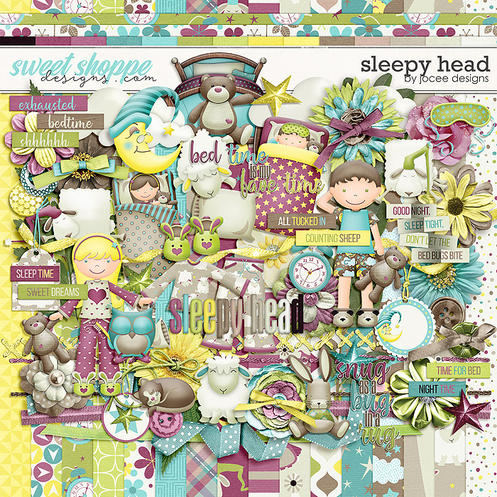 Sleepy Head Kit by JoCee Designs