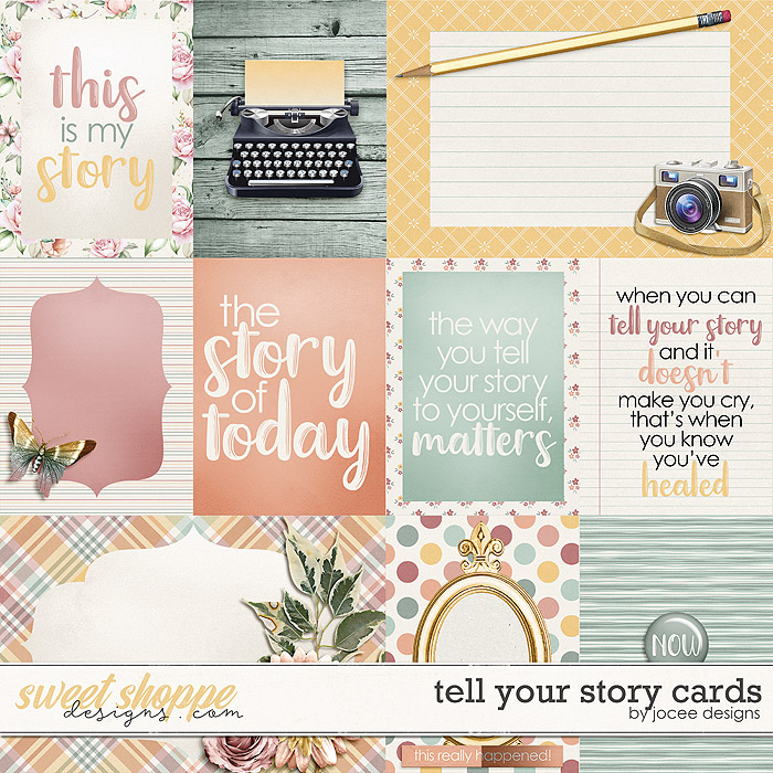 Tell Your Story Cards by JoCee Designs