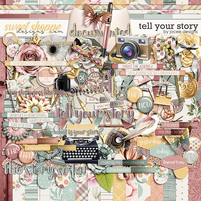 Tell Your Story by JoCee Designs