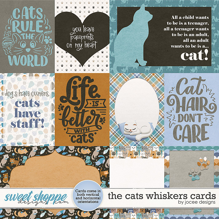 The Cats Whiskers Cards by JoCee Designs