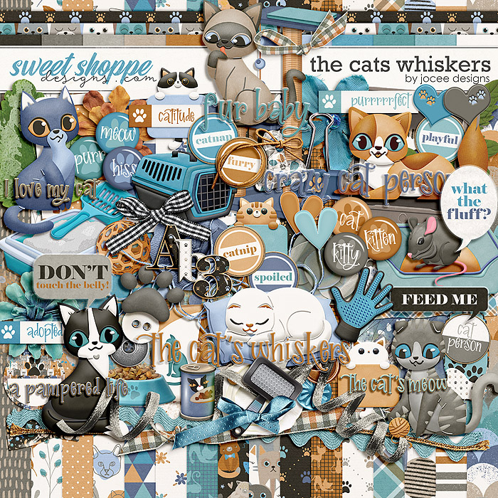 The Cats Whiskers by JoCee Designs