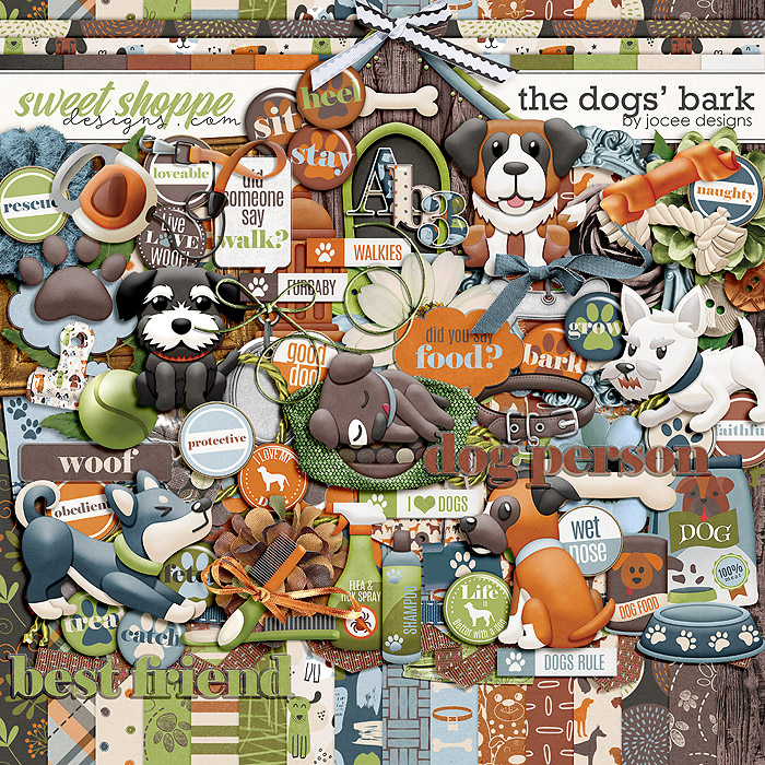 The Dogs' Bark by JoCee Designs