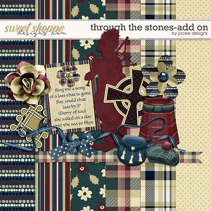 Through the Stones Add-On by JoCee Designs