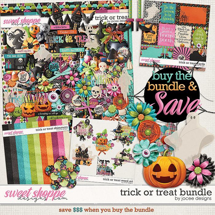 Trick or Treat Bundle by JoCee Designs