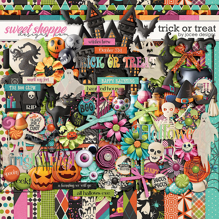 Trick or Treat by JoCee Designs