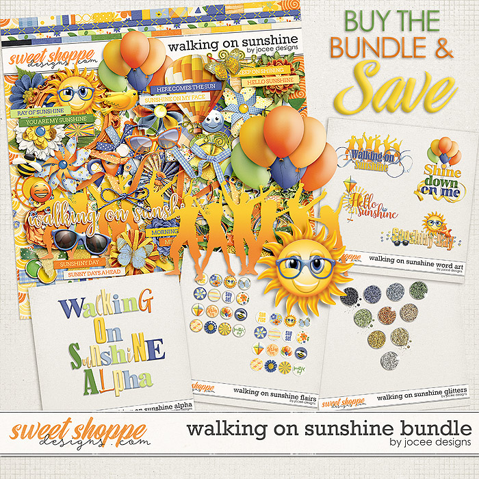 Walking On Sunshine Bundle by JoCee Designs