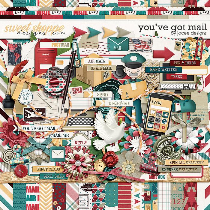 You've Got Mail Kit by JoCee Designs