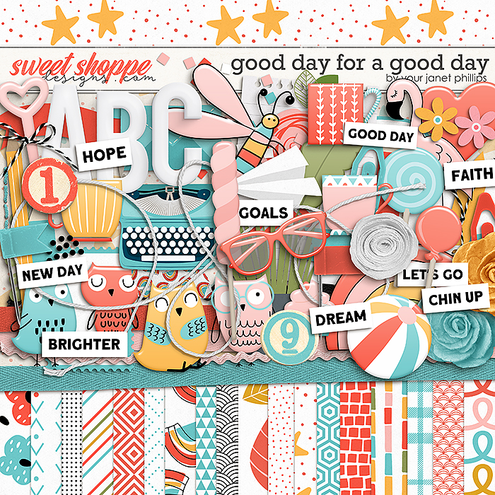 A GOOD DAY FOR A GOOD DAY by Janet Phillips