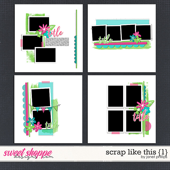 Scrap Like This {1} by Janet Phillips