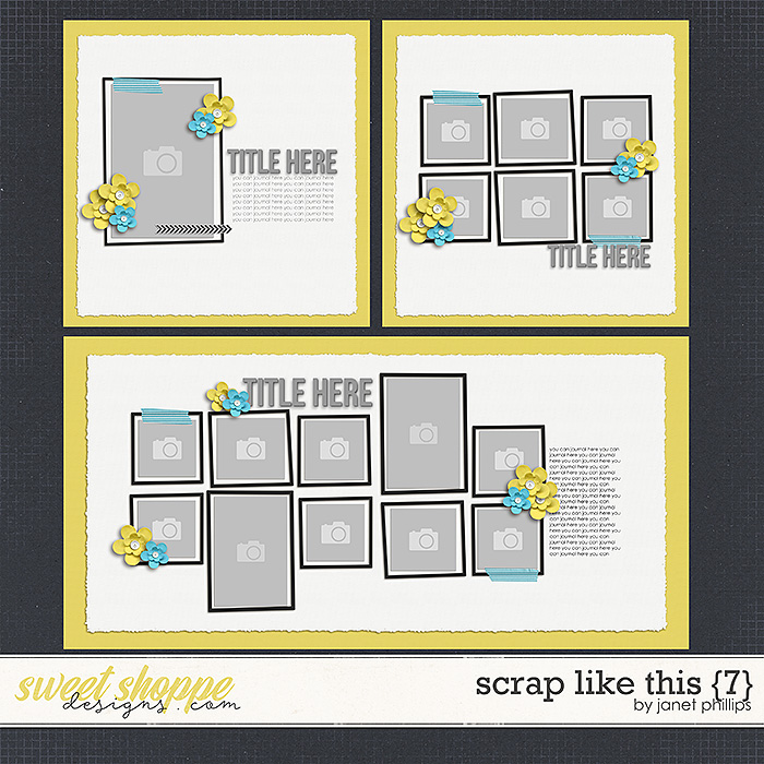 Scrap Like This {7} by Janet Phillips