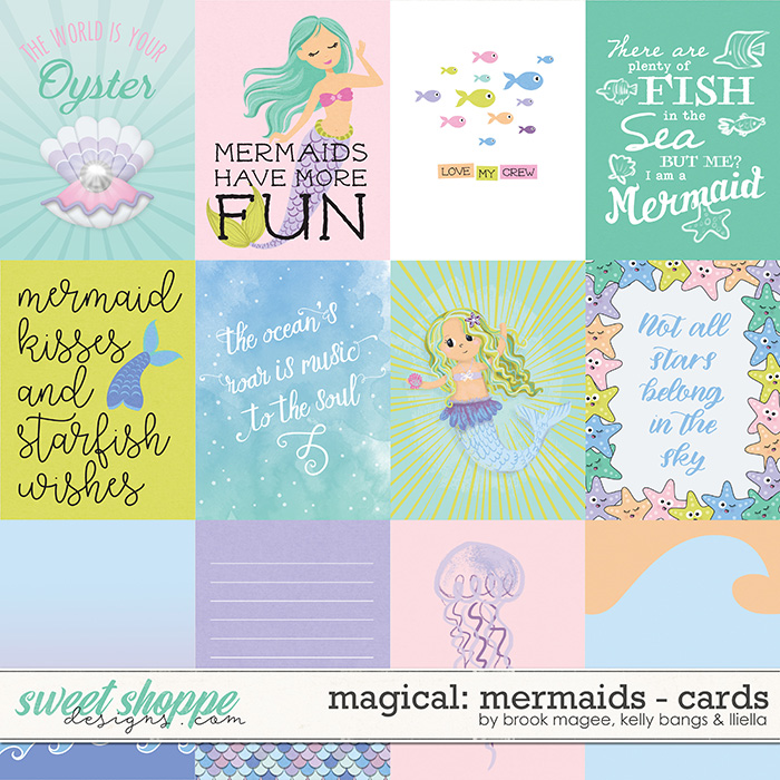 Magical: Mermaids - Cards by Brook Magee, Kelly Bangs & Lliella Designs