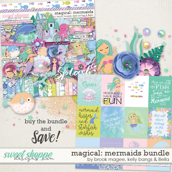 Magical: Mermaids - Bundle by Brook Magee, Kelly Bangs & Lliella