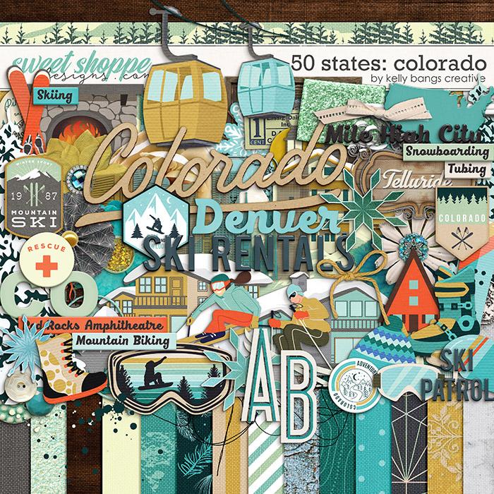 50 States: Colorado by Kelly Bangs Creative