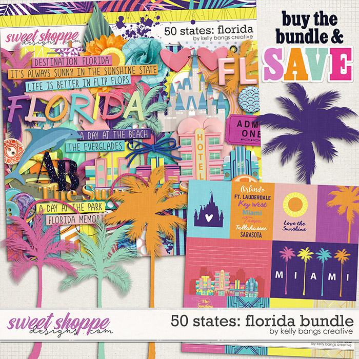 50 States: Florida Bundle by Kelly Bangs Creative
