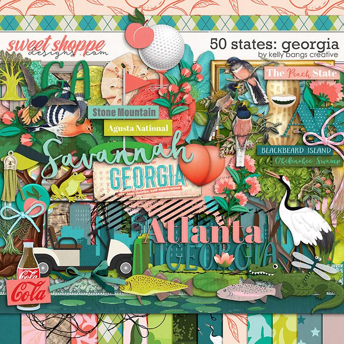 50 States: Georgia by Kelly Bangs Creative