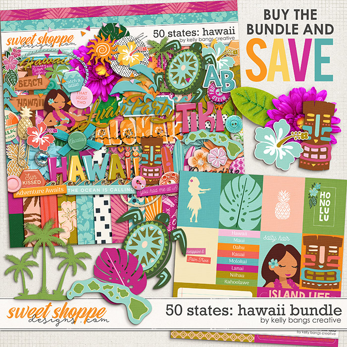 50 States: Hawaii Bundle by Kelly Bangs Creative