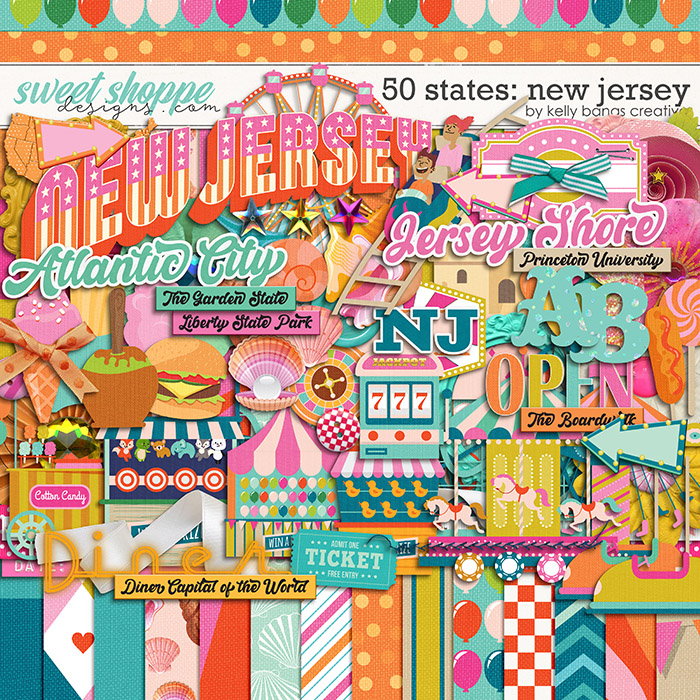 50 States: New Jersey by Kelly Bangs Creative
