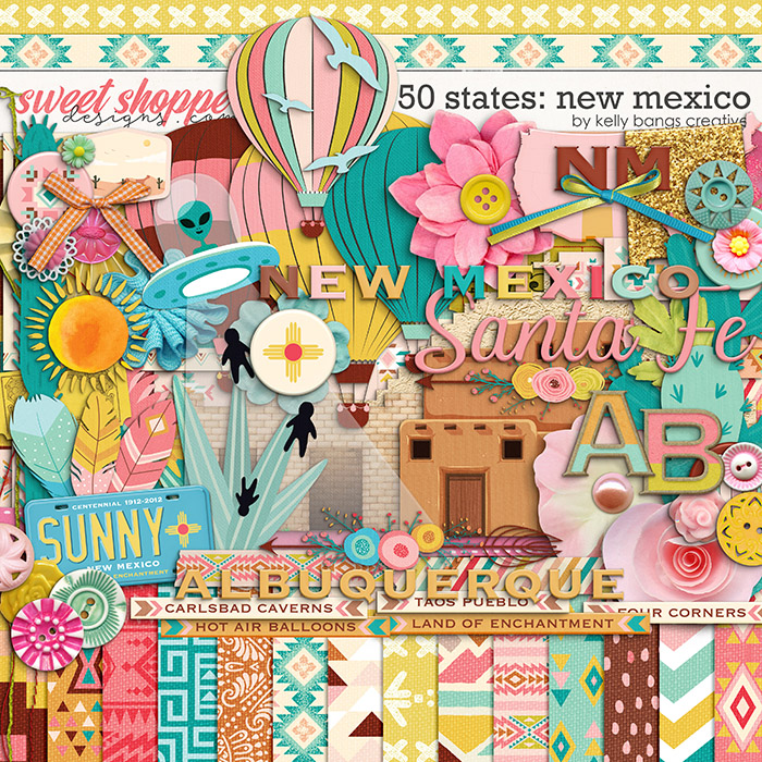 50 States: New Mexico by Kelly Bangs Creative