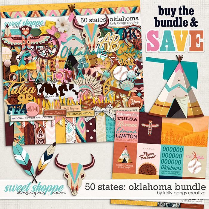 50 States: Oklahoma Bundle by Kelly Bangs Creative