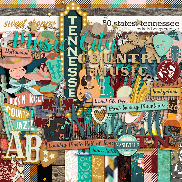 50 States: Tennessee by Kelly Bangs Creative