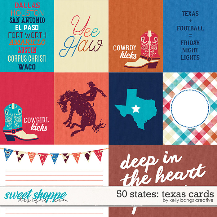 50 States: Texas Cards by Kelly Bangs Creative