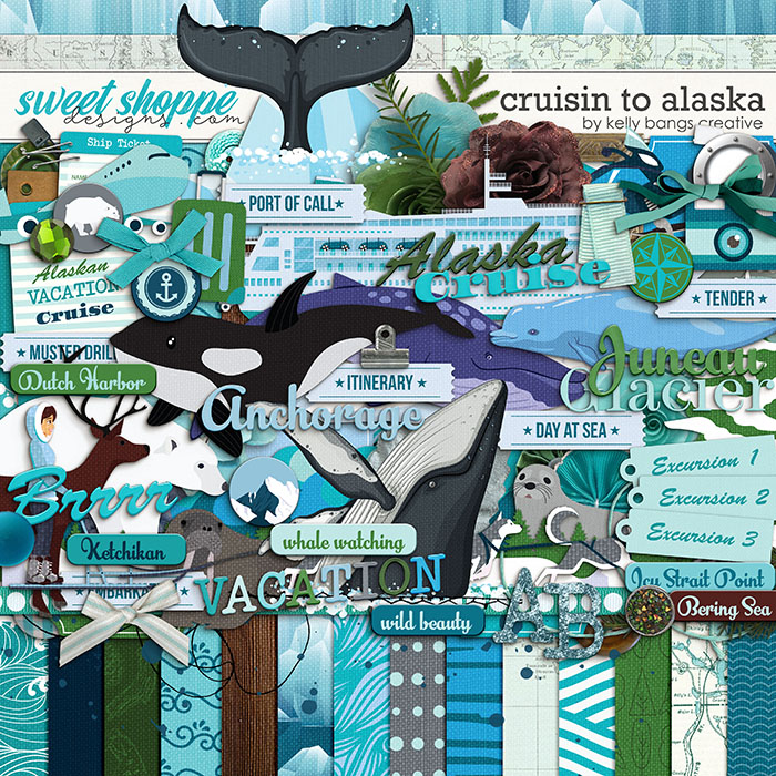 Cruisin to Alaska by Kelly Bangs Creative