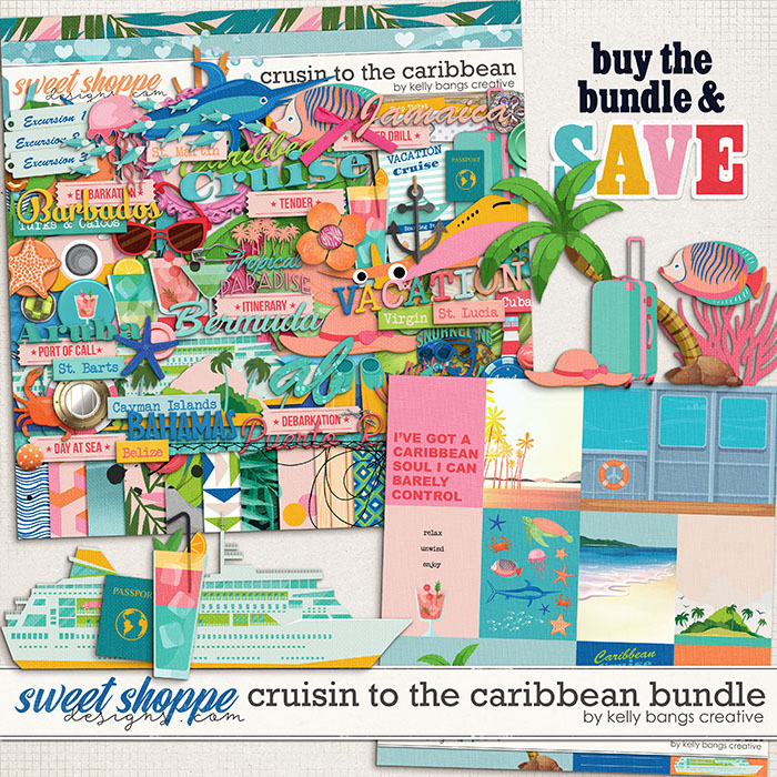 Cruisin to the Caribbean Bundle by Kelly Bangs Creative
