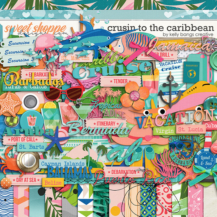 Cruisin to the Caribbean by Kelly Bangs Creative