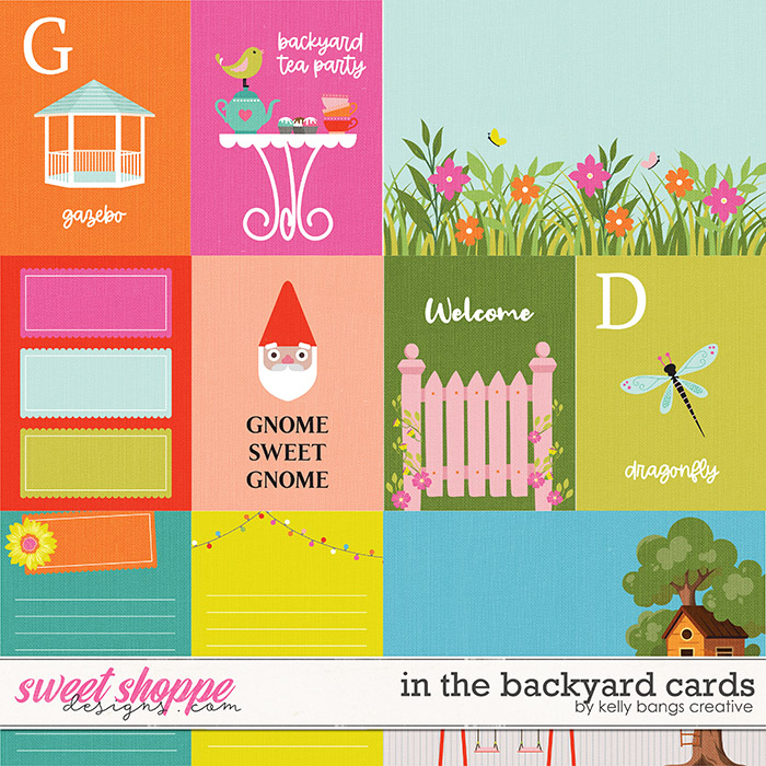 In the Backyard Cards by Kelly Bangs Creative