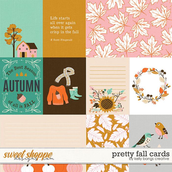 Pretty Fall Cards by Kelly Bangs Creative