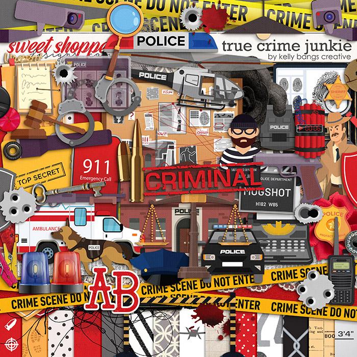 True Crime Junkie by Kelly Bangs Creative