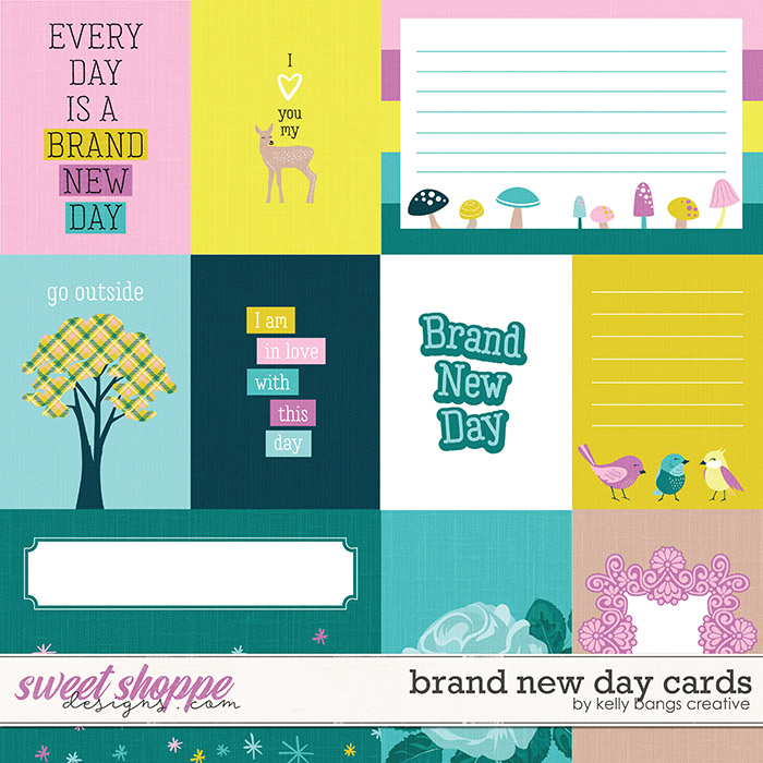 Brand New Day Cards by Kelly Bangs Creative