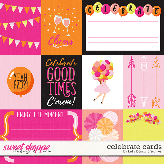 Celebrate Cards by Kelly Bangs Creative