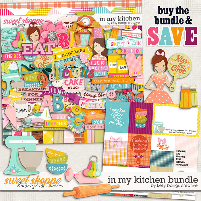 In My Kitchen Bundle by Kelly Bangs Creative