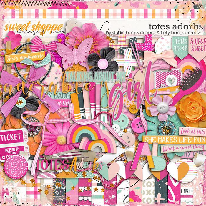 Totes Adorbs Kit by Kelly Bangs Creative and Studio Basic