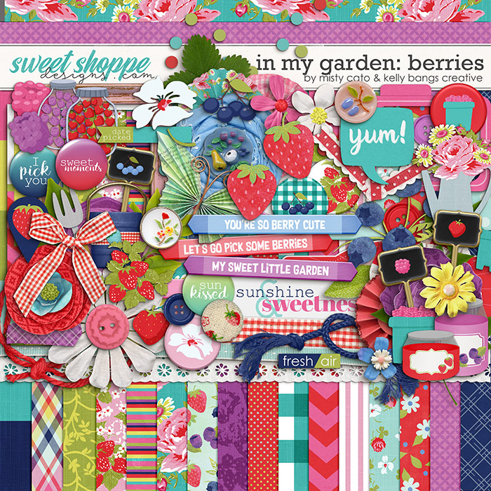 In My Garden: Berries by Misty Cato and Kelly Bangs Creative