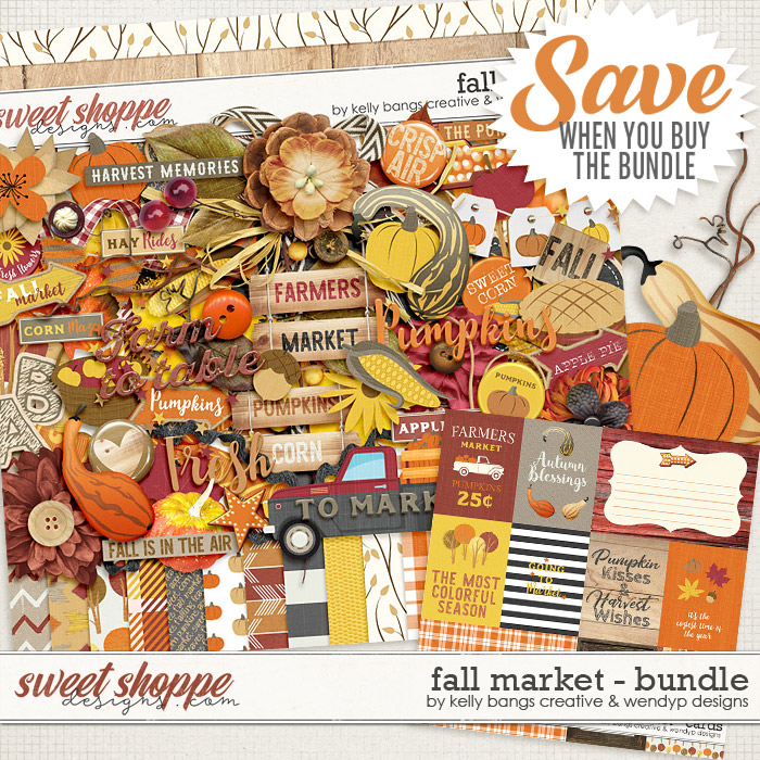 Fall Market Bundle by Kelly Bangs Creative and WendyP Designs