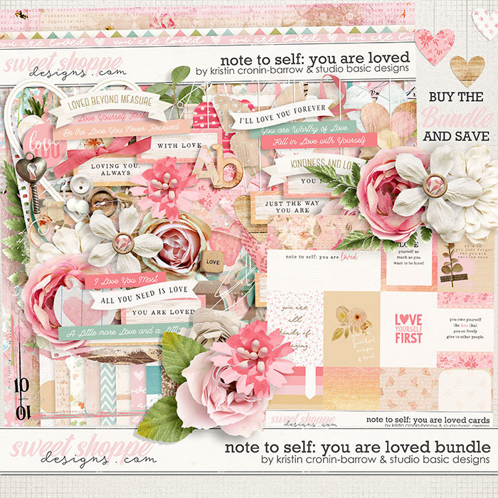 Note To Self: You Are Loved Bundle by Kristin Cronin-Barrow & Studio Basic
