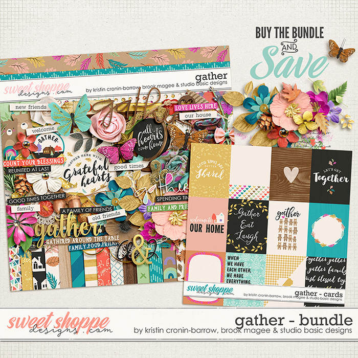 Gather Bundle by Brook Magee, Kristin Cronin-Barrow & Studio Basic Designs