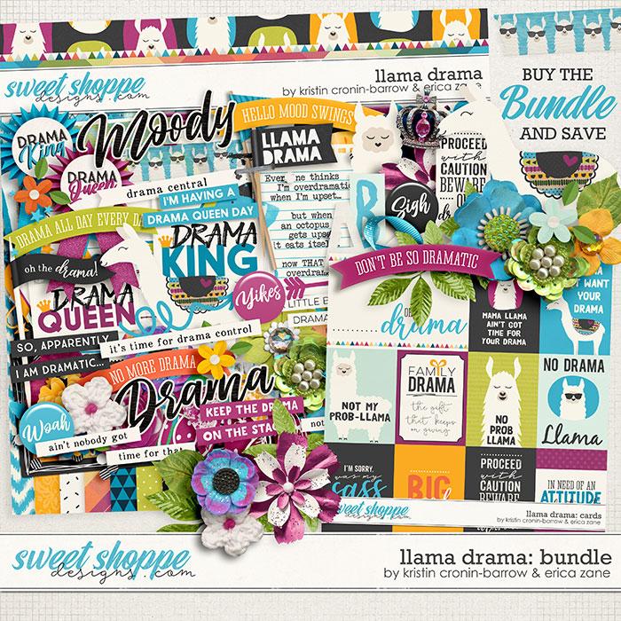 Llama Drama Bundle by Kristin Cronin-Barrow & Erica Zane