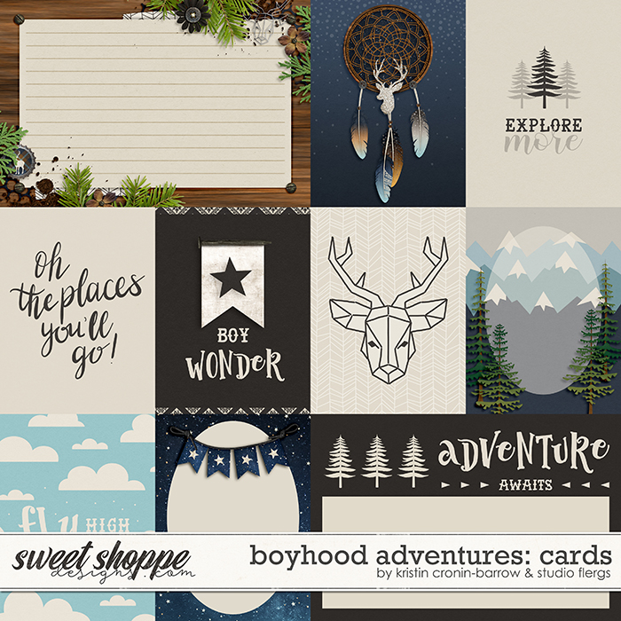 Boyhood Adventures: CARDS by Flergs & KCB