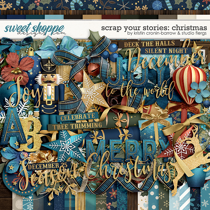 Scrap Your Stories: Christmas by Studio Flergs & Kristin Cronin-Barrow