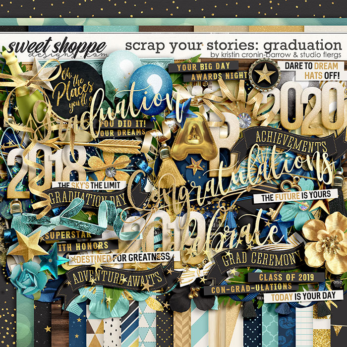 Scrap Your Stories: Graduation by Studio Flergs & Kristin Cronin-Barrow