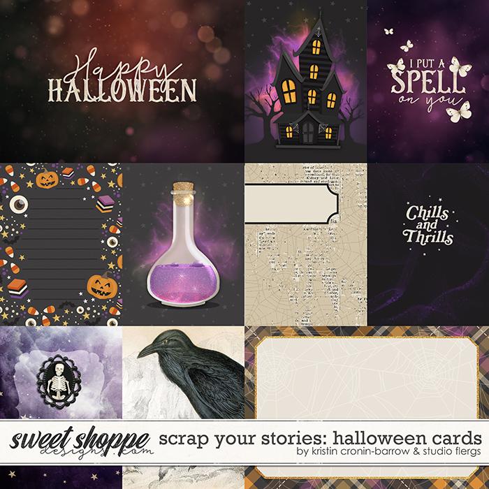 Scrap Your Stories: Halloween- CARDS by Studio Flergs & Kristin Cronin-Barrow
