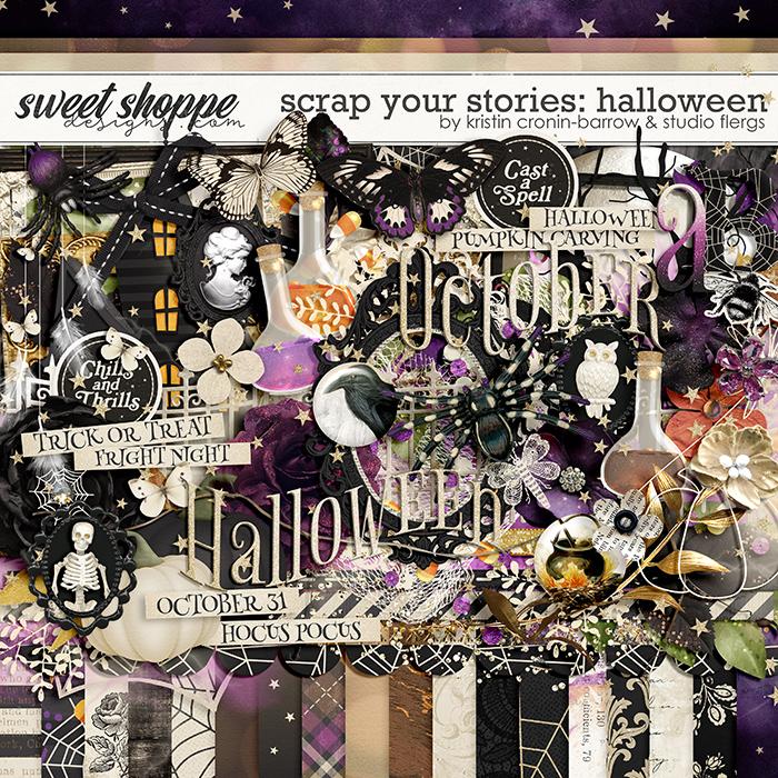 Scrap Your Stories: Halloween by Studio Flergs & Kristin Cronin-Barrow