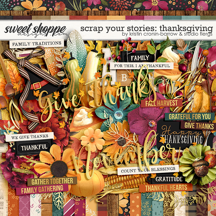 Scrap Your Stories: Thanksgiving by Studio Flergs & Kristin Cronin-Barrow