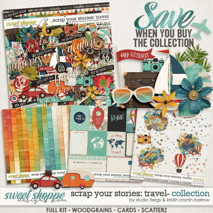 Scrap Your Stories: Travel - Bundle by Studio Flergs & Kristin Cronin-Barrow